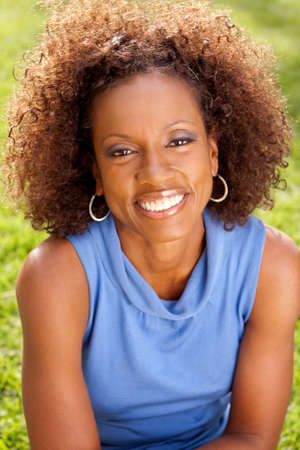 African American mature woman.