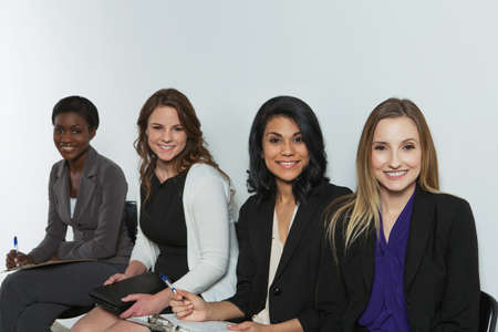 Diverse and empowered women ready for business