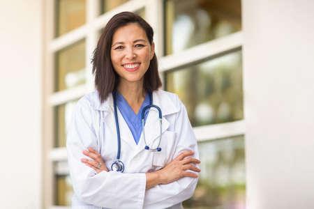 Portrait of a confident Asian healthcare provider.