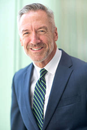 Portrait of a handsome mature confident businessman