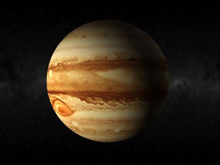 j�piter: Planeta J�piter Foto de archivo