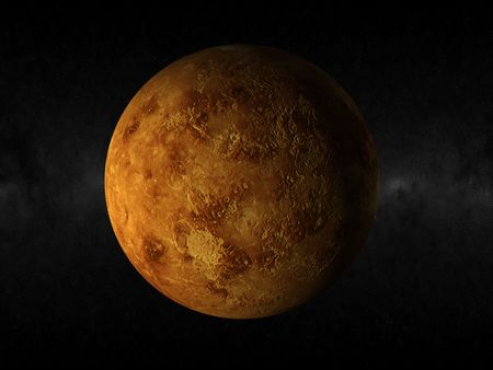 3d rendering of the planet venus Stock Photo - 4456616