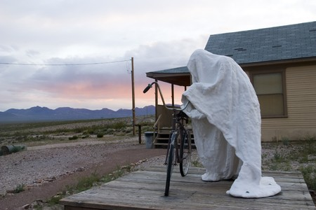 Rhyolithe ghost town in Nevada