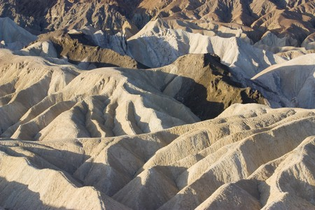 The beautiful landscape of the Zabriskie point  photo