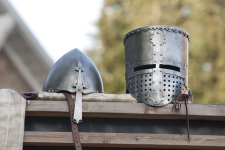 Nice medieval helmet for ancient gladiator Stock Photo - 7557082