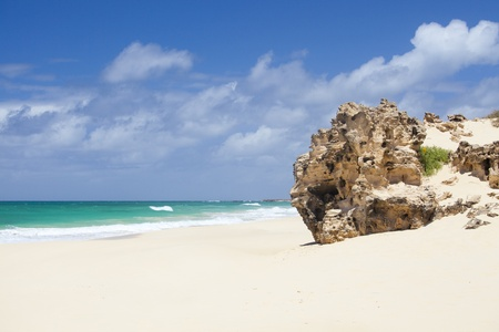 Beautiful Varandinha beach in Boa Vista