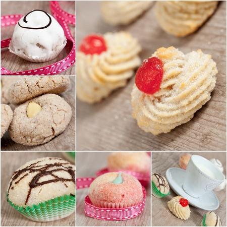 T�picos pasteles deliciosos productos l�cteos desde Italia Foto de archivo - 10925978