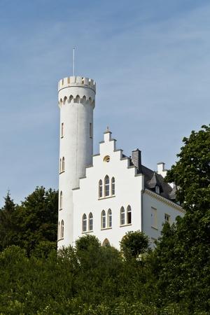 gothic castle: Antiguo castillo g�tico en el norte de Alemania Editorial