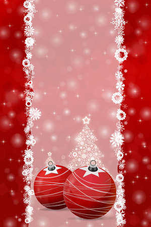Christmas background illustration for greetings and decorations Stock fotó