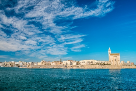 The beautiful cathedral in the city of Trani, south of Italy