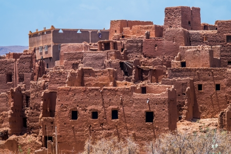 fortification: Kasbah, ancient typical fortification in Morocco