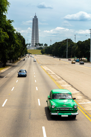 habana: The famous and iconic Plaza de la Revolucion, La Habana