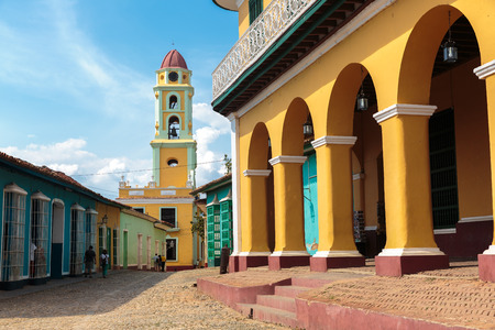 cuba: Iconic and beautiful Tower in Trinidad, Cuba
