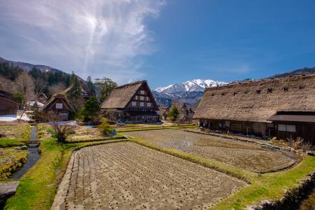 shirakawago: The beautiful site of Shirakawa-go in the Gifu prefecture of Japan Editorial