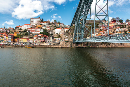 luis: Dom Luis bridge in Porto, the beautiful city on the north of Portugal