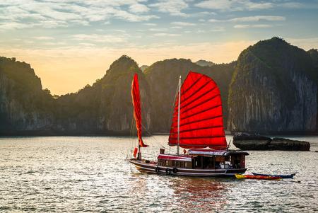 The wonderful Halong Bay, in Vietnam
