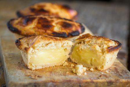 The delicious traditional Pasticciotto pastry from Lecce, Puglia, Italy Stockfoto