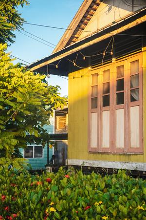 KUCHING / SARAWAK / MALAYSIA / JUNE 2014: Traditional local architecture
