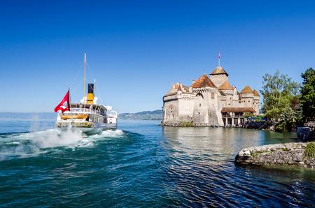 montreux: Chillon Castle, Montreux, Switzerland