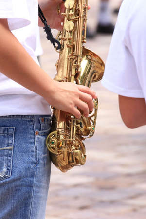 concerto: A tooter on concerto the saxophone an also important instrument