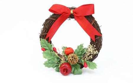 Beautiful advent wreath s ornament for the house Stock Photo