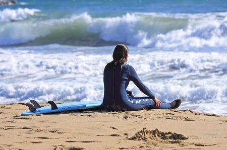 gratifying: After the surfing rest is finding gratifying