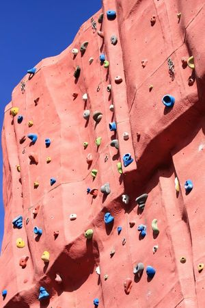 carabineer: The practice of artificial climbing walls is fun