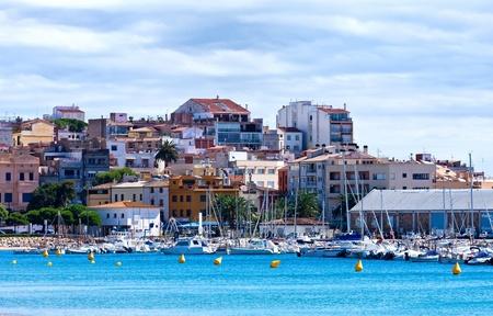 Nice, quiet seaside village of Spanish photo