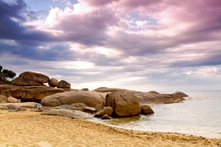 朝はスペインの海岸 (コスタ ・ ブラバ) の詳細