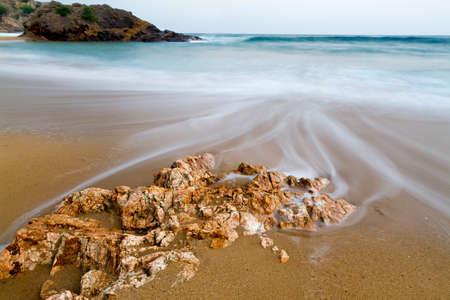 costa brava: Belle soir�e plage (Costa Brava, Espagne)