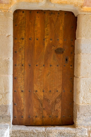 Beautiful old door in the city of Spain  Stock Photo - 16033007
