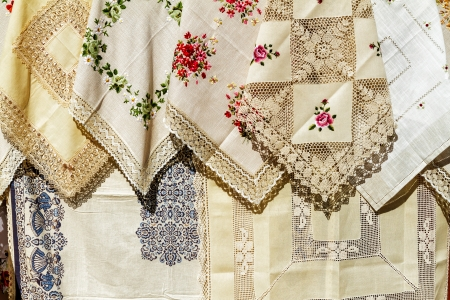 folkart: The Hungarian folk-art embroidery is world-famed