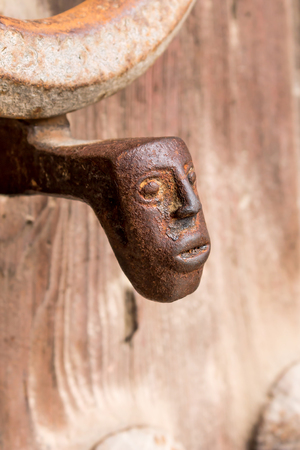 Head Door Knocker, Ancient Knocker  photo