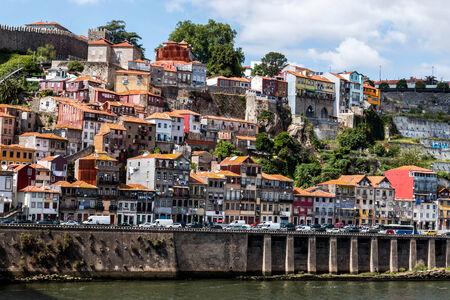baixa: Porto, Portugal The historic centre of Porto Stock Photo