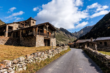Beautiful mountain in Andorra (Pyreness) photo