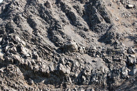 basalt: Basalt mine in Hungary