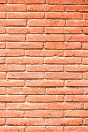 bakground: Red brick wall bakground Stock Photo