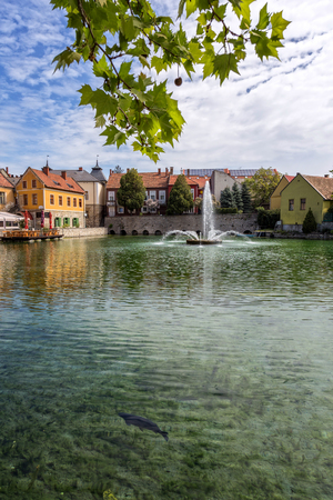 hungary: Small town Tapolca (Hungary)