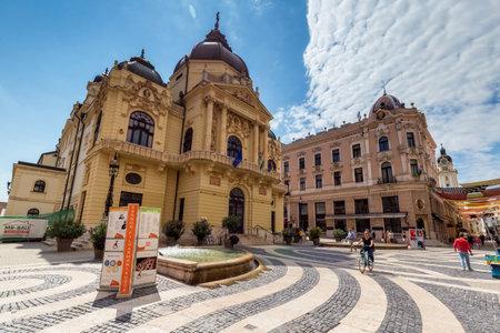 pecs: Theater of city Pecs, Hungary,18. august 2016