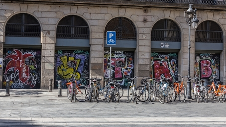 evocative: Graffiti in the City of Barcelona