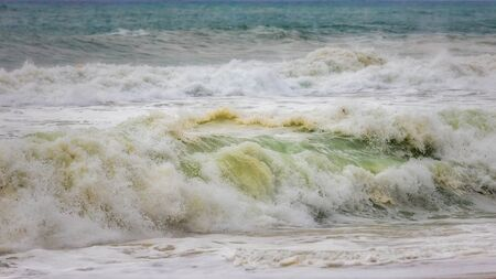 Big ocean wave after storm Banco de Imagens