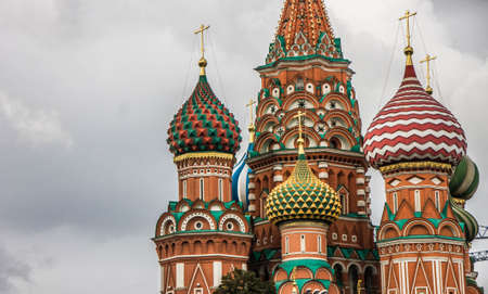 The most famous and popular landmark of Russia - Saind Basil cathedral