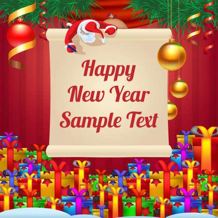 wrote: Santa wrote greetings
