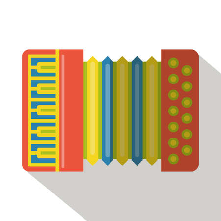 concertina: accordion flat icon