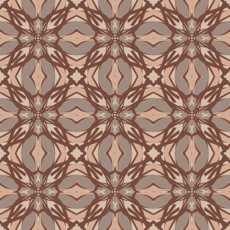 Universal light brown color vector seamless patterns, tiling. Endless texture can be used for wallpaper, pattern fills, web page background,surface textures. Geometric ornaments.
