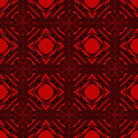 contrast floral: Universal maroon color vector seamless patterns, tiling. Endless texture can be used for wallpaper, pattern fills, web page background,surface textures. Geometric ornaments.