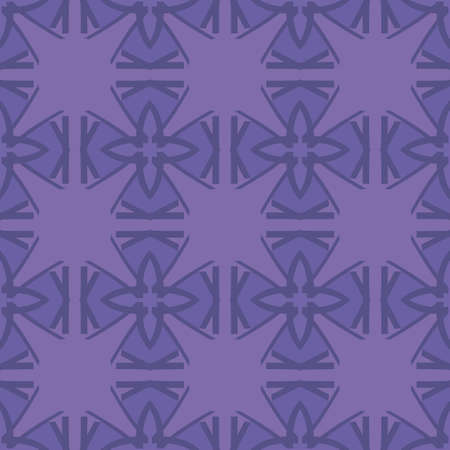 amethyst: Universal amethyst color vector seamless patterns, tiling. Endless texture can be used for wallpaper, pattern fills, web page background,surface textures. Geometric ornaments.