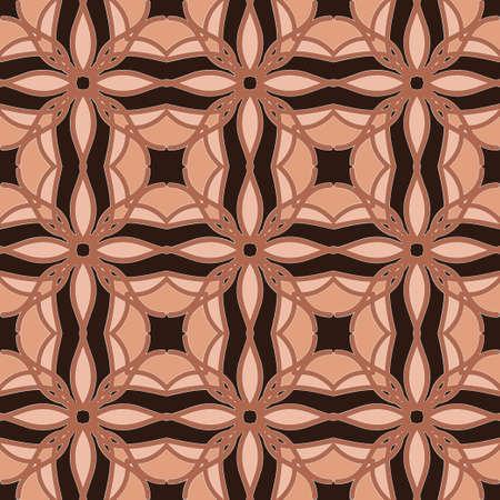 Universal Korallen Farbe Vektor nahtlose Muster, Fliesen. Endlose Textur kann für Tapeten, Muster füllt, Web-Seite Hintergrund, Oberflächen Texturen verwendet werden. Geometrische Ornamente Illustration