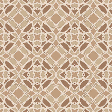 sienna: Universal burnt sienna color vector seamless patterns, tiling. Endless texture can be used for wallpaper, pattern fills, web page background,surface textures. Geometric ornaments.