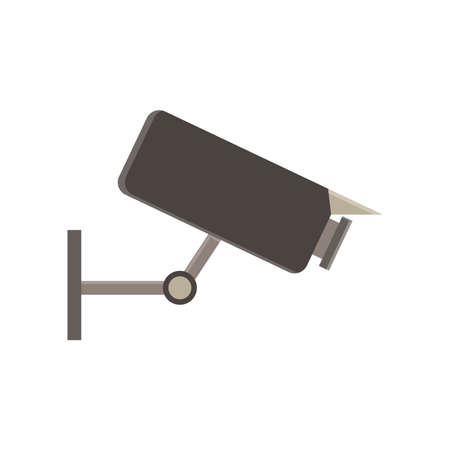private security: CCTV camera security icon surveillance vector video system illustration sign guard symbol